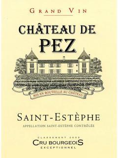 Château de Pez 2018 原装木箱 6 支标准瓶装 (6x75cl)