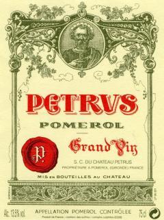 帕图斯 1979 标准瓶 (75cl)