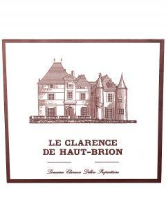 奥比昂副牌干红葡萄酒 2010 原装木箱 12 支标准瓶装 (12x75cl)