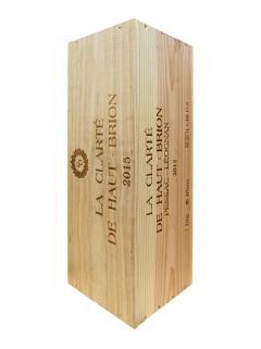 奥比昂副牌白葡萄酒 2015 原装木箱 1 支皇室瓶装 (1x600cl)