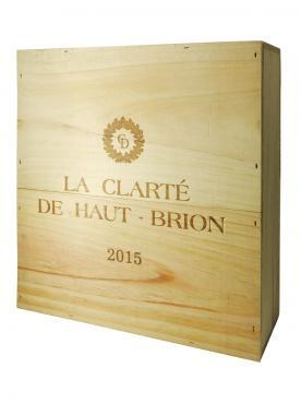 奥比昂副牌白葡萄酒 2015 原装木箱 3 支大瓶装 (3x150cl)
