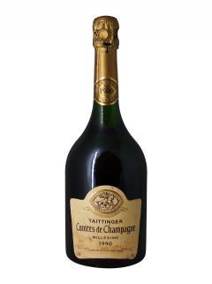 香槟 泰亭哲 香槟伯爵 白中白 干香槟酒 1990 标准瓶 (75cl)