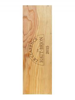 奥比昂副牌干红葡萄酒 2015 原装木箱 1 支双倍大瓶装 (1x300cl)