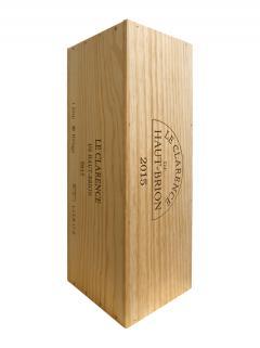 奥比昂副牌干红葡萄酒 2015 原装木箱 1 支皇室瓶装 (1x600cl)