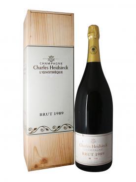 香槟 哈雪香槟 葡萄酒店 干香槟酒 1989 原装木箱 1 支 3 升瓶装 (1x300cl)
