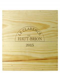 奥比昂副牌干红葡萄酒 2015 原装木箱 3 支大瓶装 (3x150cl)