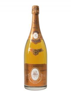 香槟 路易王妃 克里斯特尔 桃红色 干香槟酒 1995 大瓶(150cl)