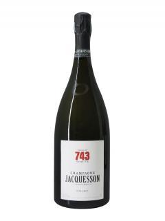 香槟 雅克森酒庄 Cuvée n°743 特极干型 非年份酒 大瓶葡萄酒礼盒(150厘升)