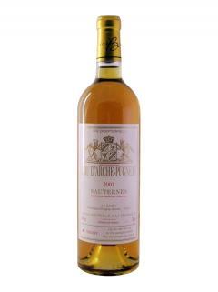 达契旁讷甜白葡萄酒 特选 2001 标准瓶 (75cl)
