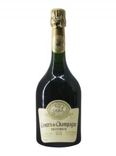 香槟 泰亭哲 香槟伯爵 白中白 干香槟酒 1979 标准瓶 (75cl)