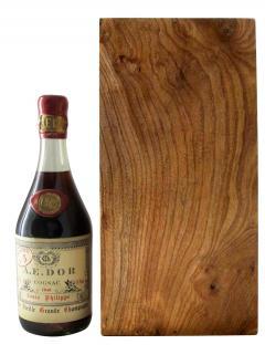 科涅克白兰地 路易·菲利浦特酿大香槟 艾舵/A牌 1840 原装木箱单瓶装 (70cl)