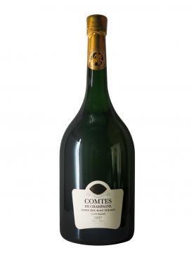香槟 泰亭哲 香槟伯爵 白中白 干香槟酒 2007 原装木箱单支 6 升瓶装 (1x600cl)