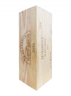 奥比昂副牌干红葡萄酒 2016 原装木箱 1 支双倍大瓶装 (1x300cl)