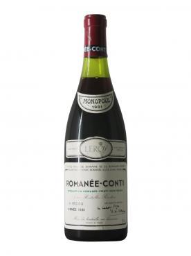 罗曼尼-康帝 名庄 罗曼尼康帝 1981 标准瓶 (75cl)