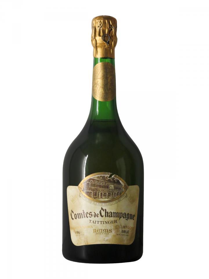 香槟 泰亭哲 香槟伯爵 白中白 干香槟酒 1961 标准瓶 (75cl)