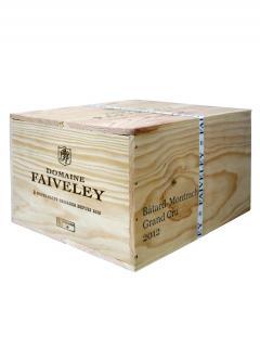 巴达-蒙哈榭 名庄 法维莱酒庄 2012 原装木箱 6 支标准瓶装 (6x75cl)